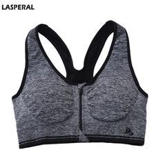 efd2ed8afc99a EFINNY Women s Front Zipper Endure Sports Bra Support Racerback Running  Yoga Bra -- You can find more details by visiting the image link.