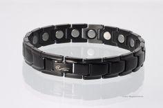 Magnetschmuck Magnetarmband schwarz mit extra-starken Magneten € 69,00