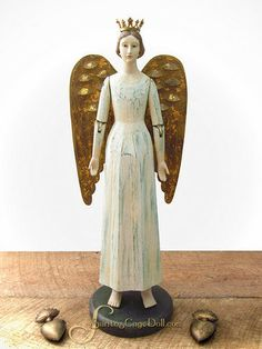 Santos Cage Doll History | this santos angel is one of my favorites the santos cage doll shop is ...
