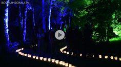RUB ExtraSchicht im Botanischen Garten. Ein blümerantes Meisterwerk! In zahlreichen Nacht- und ExtraSchichten hat die RUB einen fabelhaften Parkour gezaubert.