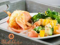 LowCarb Überbackene Hackfleischröllchen in Tomaten-Sahne-Soße – Low Carb Köstlichkeiten
