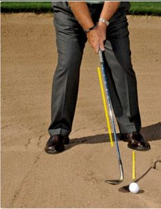 To play great golf bunker shot you need to have the correct golf bunker shot technique first. This is where most golfers go wrong. Learn how to set up to bunker shots right first and start getting up and down for par more often.
