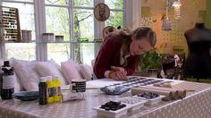 Tygtryck med potatis, penna och pappersrulle | Hobby och hantverk | svenska.yle.fi