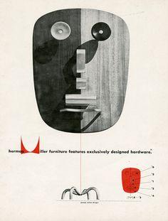 Irving Harper | Henry Miller Magazine Advertisement: 1948.