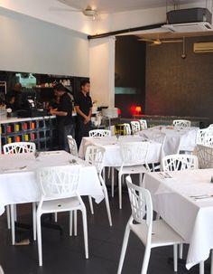 Modern and clean interior at My Elephant Thai restaurant in Kuala Lumpur.