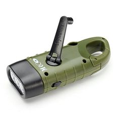 Limited Chance of Mini Emergency Hand Crank Dynamo Solar Flashlight Rechargeable LED Light Lamp Charging Powerful Torch For Outdoor Camping Solar Power Energy, Power Led, Survival Prepping, Survival Gear, Homestead Survival, Emergency Preparedness, Outdoor Survival, Outdoor Camping, Outdoor Gadgets