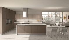Cucinesse: #cucina moderna KREA - Personalità in cucina. #arredamento #design #interiordesign #funzionalità #comodità #accogliente