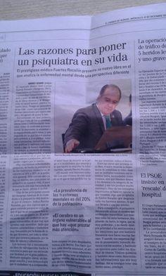 Ponga un psiquiatra en su vida en El correo de Burgos