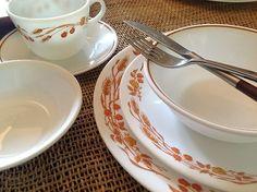 Corelle dishes vintage