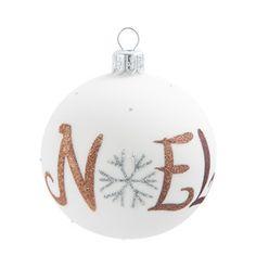 Boule sapin flocon - Déco Noël Winter - Maisons du Monde