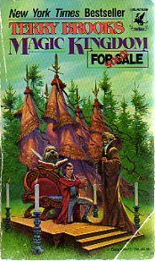 Terry Brooks, another great fantasy writer!  This was my first fantasy read as an adult...and it got me hooked...