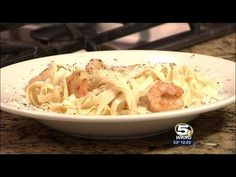 Classic Shrimp Alfredo in less than five minutes.