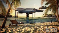 Insane Underwater Discus Hotel in Dubai