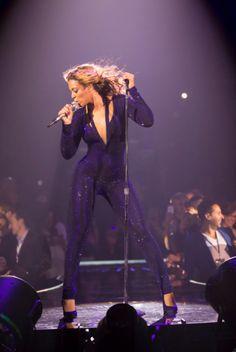 Beyonce on Miss Carter World Tour