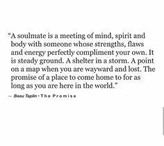 A soulmate