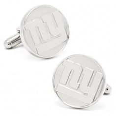 NY Giants Silver Edition Cufflinks
