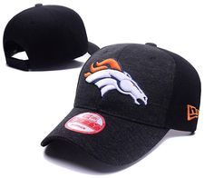 Men's / Women's Denver Broncos New Era 2016 NFL Classic Team Adjustable Curved Hat - Heather Grey / Black