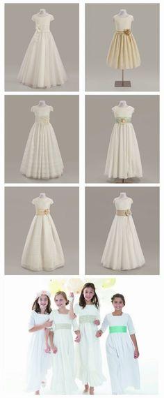 Vestidos de comunión para niñas | Todo Primera Comunión