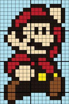 Block 01 - Mario with gird