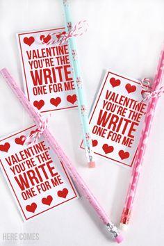 These pencil valentines are so cute a great idea for little kids! Happy Valentine Day HAPPY VALENTINE DAY | IN.PINTEREST.COM WALLPAPER #EDUCRATSWEB