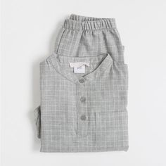 Grey flannel pyjamas - Kids - Homewear & shoes | Zara Home Denmark
