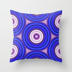 Spinning Wheels - blue Throw Pillow by Photos By Healy. Worldwide shipping available at Society6.com. Just one of millions of high quality products available.