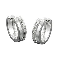 A great pair of hoop earrings of best quality. The front side is glossy. The outer ring is wrought. The backside is glossy. A decent but beautiful pair that . Luxury Jewelry, Rings For Men, Handmade Jewelry, Hoop Earrings, Wedding Rings, Engagement Rings, Pattern, Silver, German