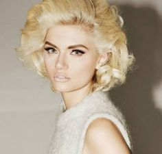 how to style hair like marilyn martina dimitrova s hair hair styles i 3171