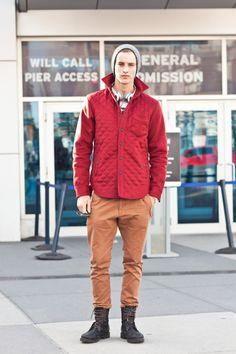red coat :)