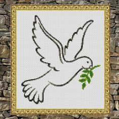 Fabric: 14 count White Aida Stitches: 89 x 100 Size: 6.36 x 7.14 inches or 16.15 x 18.14 cm Colours: DMC 5 colours Use 2 strands of thread for cross stitch *PDF* File Only, this is not a finished piece or physical pattern. PDFs included: Cover sheet with instructions and list of required materials, and a color/symbol chart pattern with DMC legend. *** Your PDF files will be made available for instant download via Etsy once the payment has been confirmed. Once payment is processed, ...