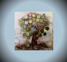 Modern art Money tree canvas art beautiful gift for lovers feng shui money coins Textured painting Fine art small artwork picture mascot Painting Edges, Texture Painting, Acrylic Painting Canvas, Tree Canvas, Canvas Art, Feng Shui And Money, Money Trees, Types Of Painting, Artwork Pictures