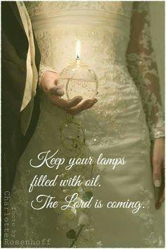 """{Matthew 25:1-13) """"Keep watch…"""""""