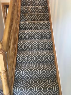 www.stairrunnersdirect.com Carpet Staircase, Hall Carpet, Rhythmic Gymnastics Costumes, Stair Runners, Hallway Ideas, Patterned Carpet, Animal Print Rug, House Ideas, Stairs