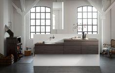 #Alape #wastafels A˘form en A˘system programma Mensen zijn #uniek – net als hun waarden en normen, die weerspiegeld worden in de verschillende karakters en levensstijlen. De individuele #vormgeving van #woonruimtes is als een #spiegel van de eigen persoonlijkheid. Het is daarom van wezenlijk belang, dat de #badkamer als intiem centraal punt van de dagelijkse rituelen, de unieke levensstijl representeert. Meer informatie:  http://www.wonenwonen.nl/sanitair/alape-wastafels/8256