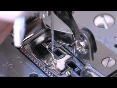 SINGER® Side Cutter Presser Foot Attachment Tutorial - YouTube