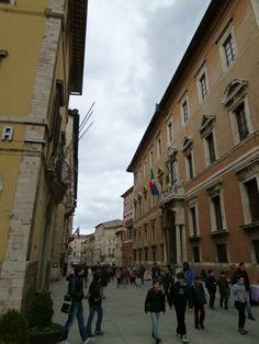 Corso Vannucci, Perugia,Italia