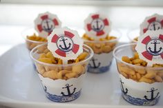 Anchors Away Baby Shower! | CatchMyParty.com
