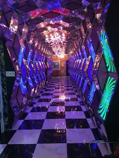 Club MUSÉE is Madrid's fresh take on what night clubs could be — a combination art gallery and night club, but both with Aesthetic Rooms, Purple Aesthetic, Retro Aesthetic, Photo Wall Collage, Picture Wall, Nightclub Design, Karaoke Party, Neon Room, Bar Lounge