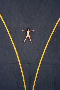 Aerial Nude by John Crawford.