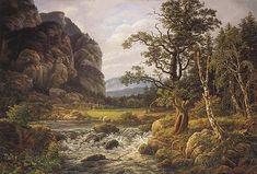 Monograffi - Nordic Landscapes. By J C Dahl. 1819