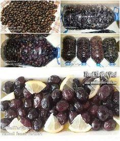 Siyah Zeytin Tarifi Turkish Breakfast, Fruit Drinks, Diet And Nutrition, Kitchen Hacks, Herbalism, Frozen, Food And Drink, Healthy Recipes, Canning