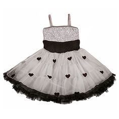10eae3f1d5d5 Ooh! La La Couture Gorgeous Silver Hearts Wow Poofy Pettiskirt Dress Ooh La  La Couture