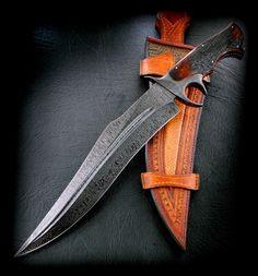 Fighter Sub Hilt   CAS Knives - cuchillos artesanales