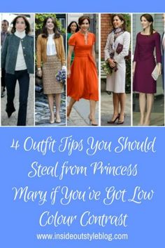 Low Colour Contrast Dressing Tips - Princess Mary style