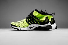 Be The Center Of Attention With This Nike Air Presto Ultra Flyknit In Volt