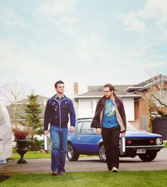 Harry and Ed. I'd love to see more Ghostfacers!