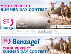 Benzagel Your Perfect Summer Day Contest