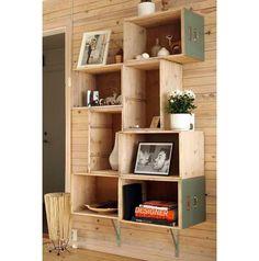 Aqui, as gavetas se tornam protagonistas e transformam a decoração do ambiente.