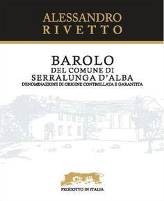 Alessandro Rivetto Barolo Serralunga 2011