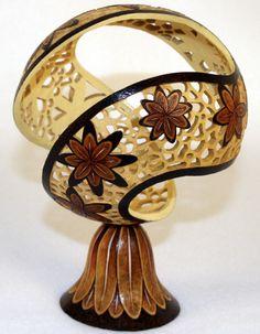 Gourd Art by Bill Decker